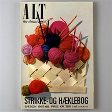 Alt for damernes strikkebog 1967-68