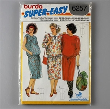 vintage retro symønster burda
