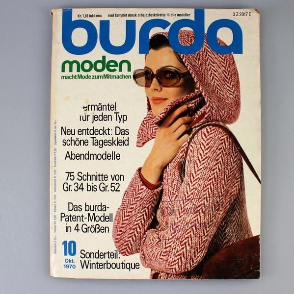 Burda 1970, retro symagasin
