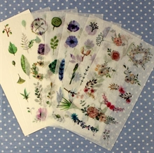FINE BLOMSTER STICKERS